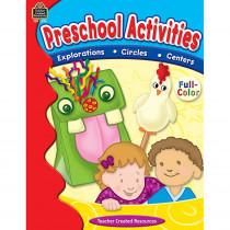 TCR2096 - Preschool Activities Book in Classroom Activities