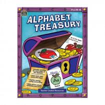 TCR2340 - Alphabet Treasury Gr Pk-K in Letter Recognition
