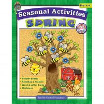 TCR3538 - Seasonal Activities Spring Gr Prek in Holiday/seasonal