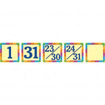 TCR4582 - Rainbow Calendar Day Mini Packs in Calendars