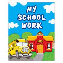 TCR4939 - My School Work Pocket Folder in Folders