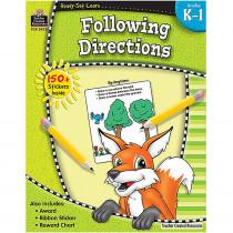 TCR5933 - Ready Set Lrn Following Directions Gr K-1 in Following Directions
