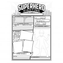 TOP3060 - Superhero Sighting in Classroom Activities
