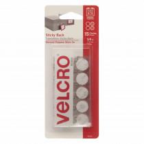 VEC90070 - Velcro Tape Round 5/8 Inch White in Velcro