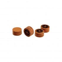 PureX Pro Laminated Leather Pool Cue Tip