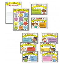 Speaking and Listening Strategies Bulletin Board Set
