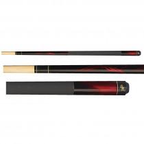 Dufferin D-212 Red Flame Pool Cue Stick
