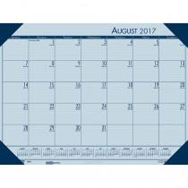 Academic Ecotones Desk Pad Blue Paper Blue Holder