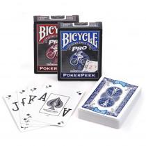 Bicycle Pro Poker Peek Index Playing Cards