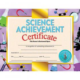 Science Achievement 30/Pk 8.5 X 11 Certificate Inkjet Laser