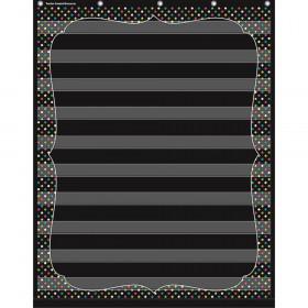 Chalkboard Brights 10 Pocket Chart