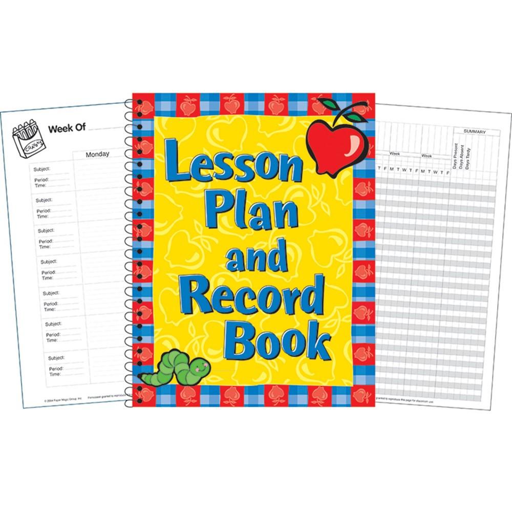 Lesson plan and record book eu 866210 eureka teacher for Plan books