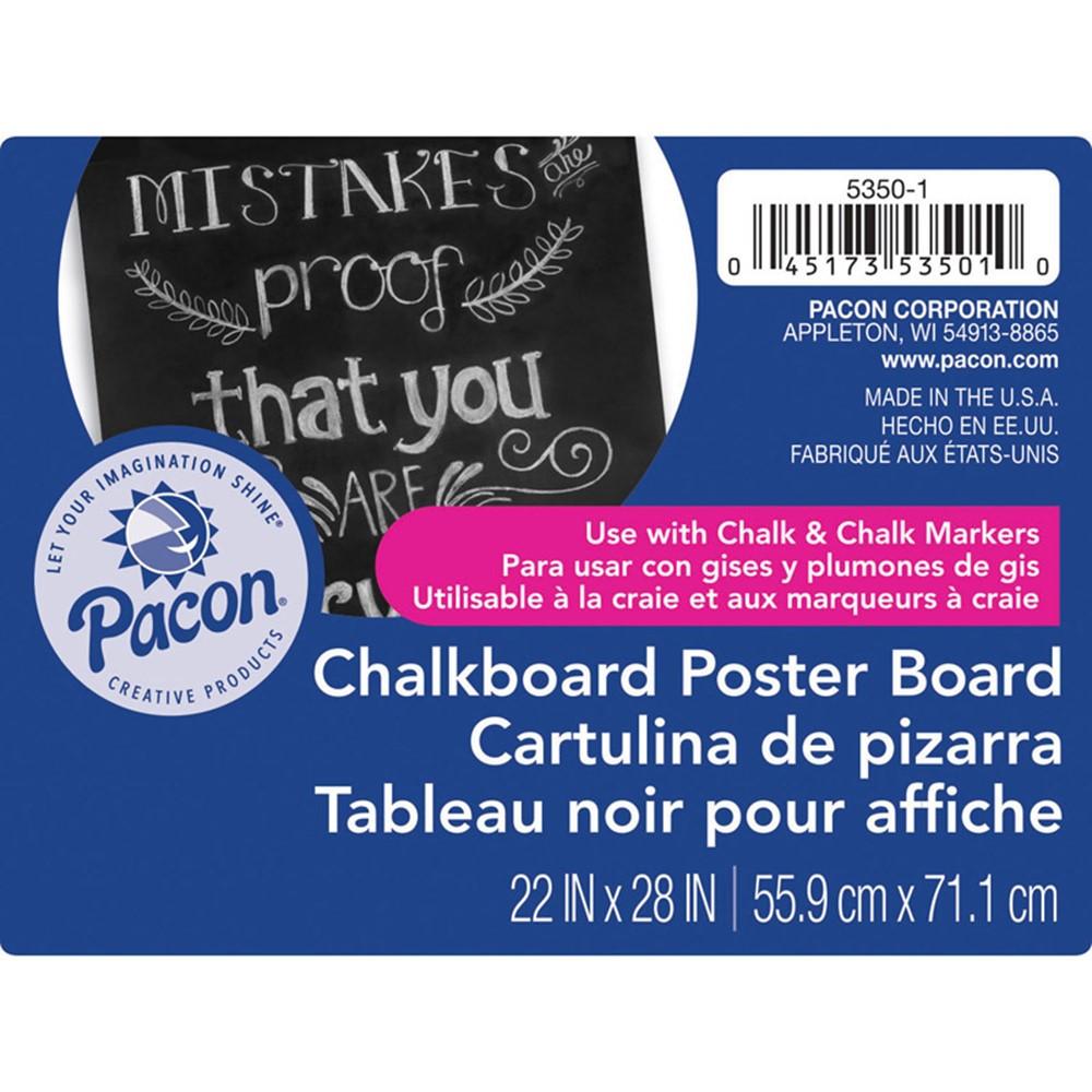 Chalkboard poster board