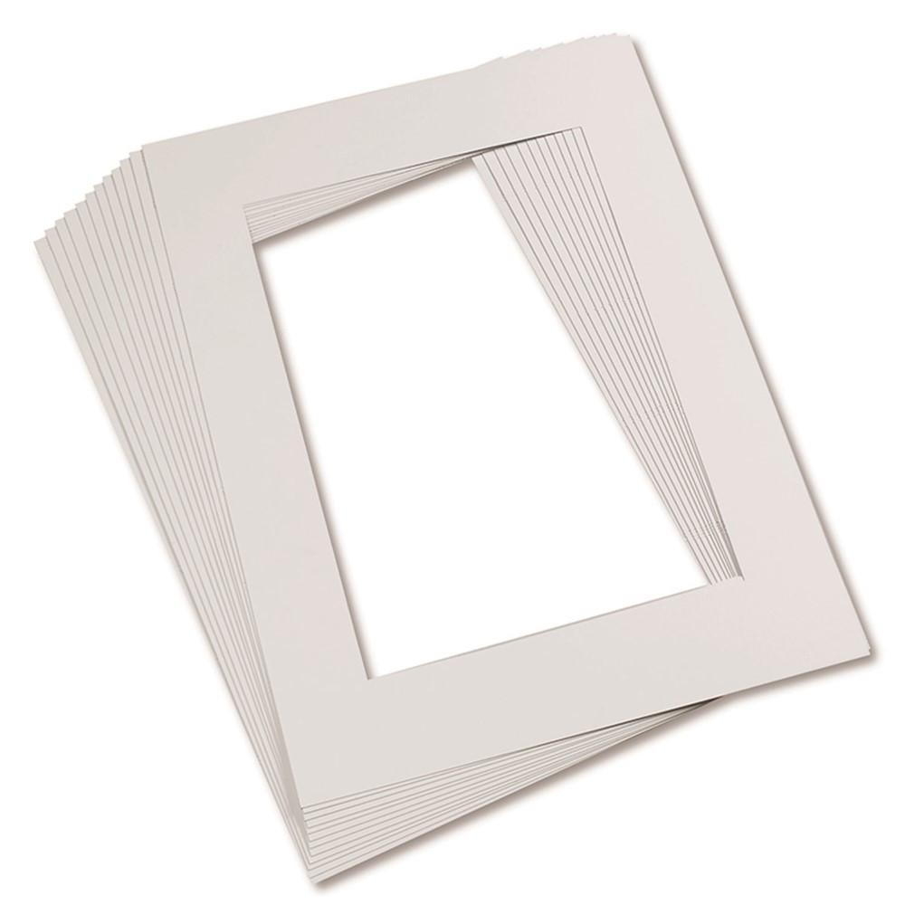 mat frames 9 x 12 white pac72510 pacon corporation arts crafts mat frames. Black Bedroom Furniture Sets. Home Design Ideas