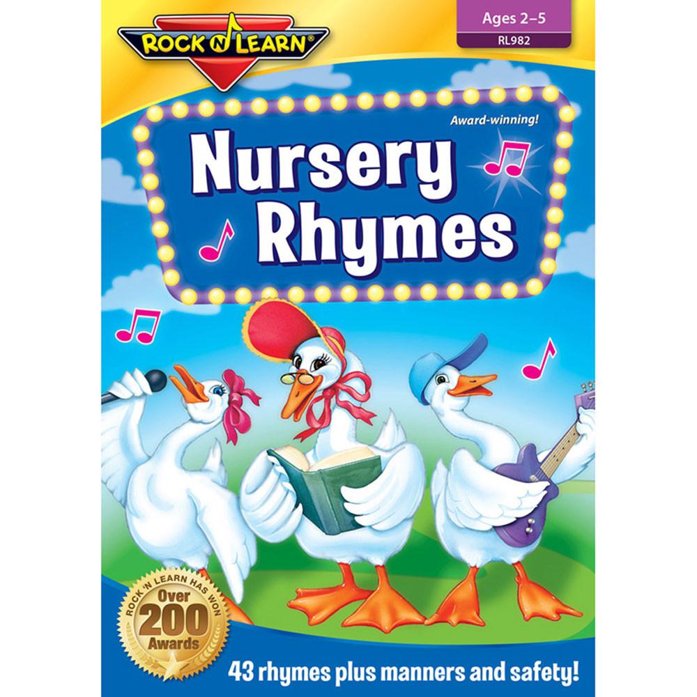 Nursery Rhymes Dvd - RL-982