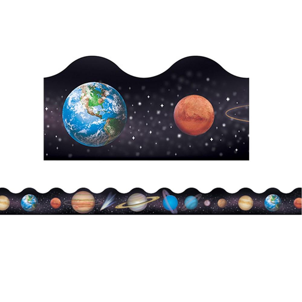 Solar system terrific trimmers t 92007 trend enterprises inc classroom decorations border - Solar system decorations ...