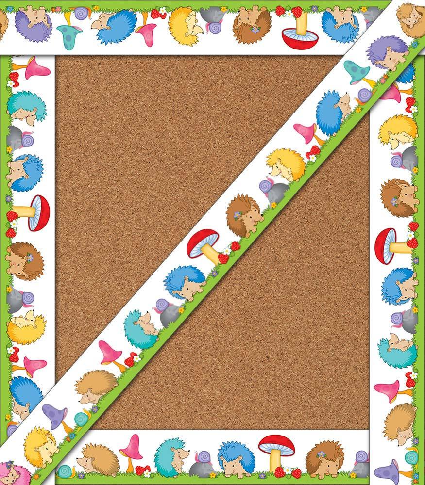 Hedgehog Classroom Decor : Happy hedgehogs straight borders cd carson