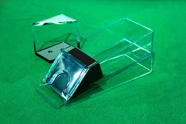 4 Deck Blackjack Dealer Shoe and Discard Tray
