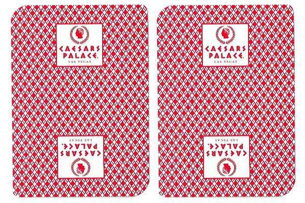 Caesars Palace Casino Used Playing Cards