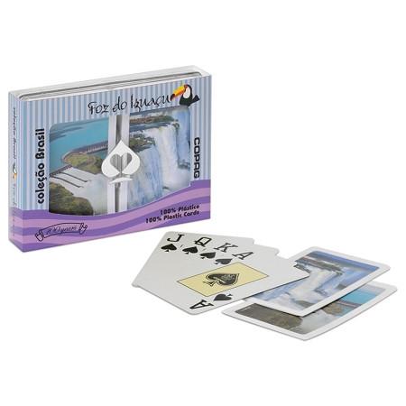 COPAG Foz da Iguaza Plastic Bridge Playing Card Set