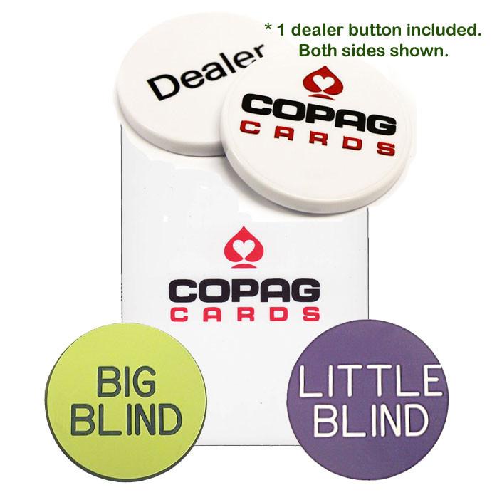 COPAG Bridge Size Dealer Button Kit