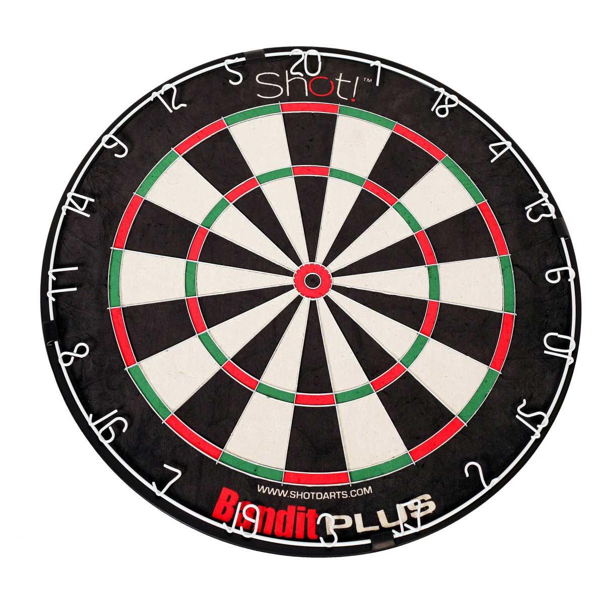 DMI Bandit Plus Staple-Freee Bristle Dart Board