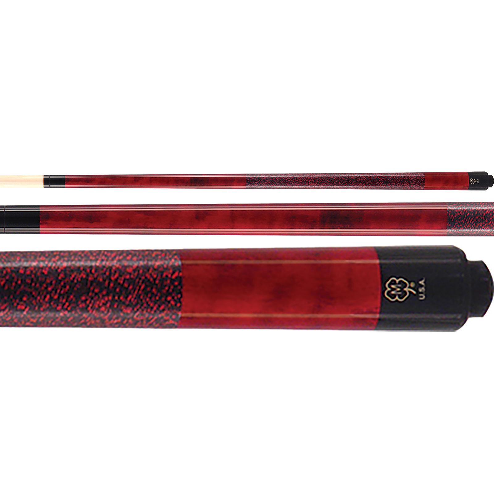 McDermott GS03 GS-Series Burgundy Red Pool Cue