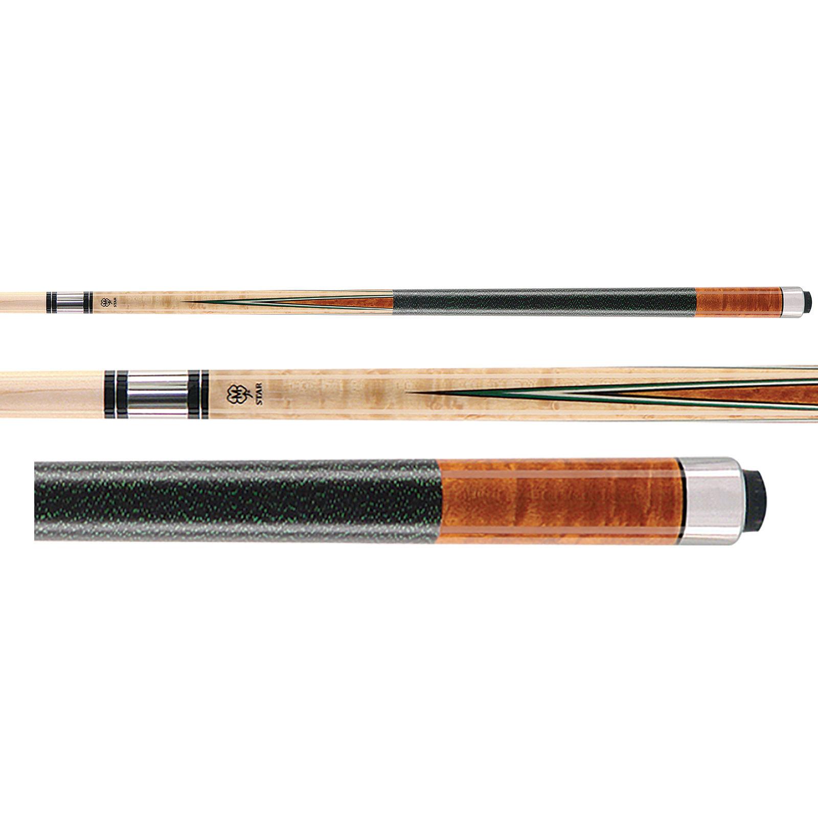 McDermott Star S52 Cherry Billiards Pool Cue Stick