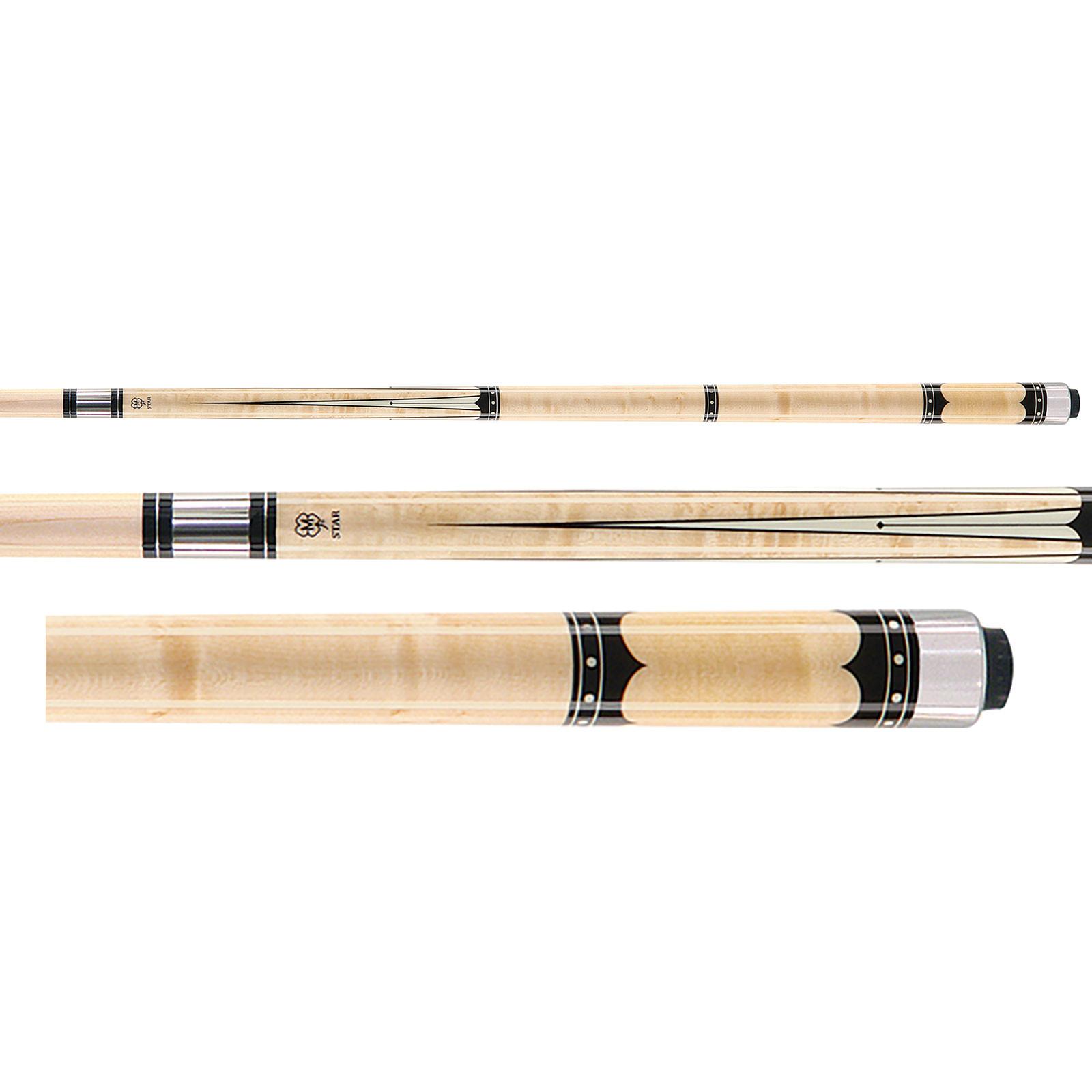 McDermott Star S58 Natural Billiards Pool Cue Stick