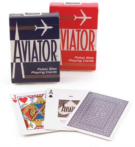 Aviator Standard Index Playing Cards
