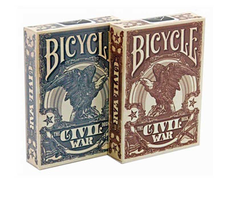 Bicycle Civil War Playing Cards