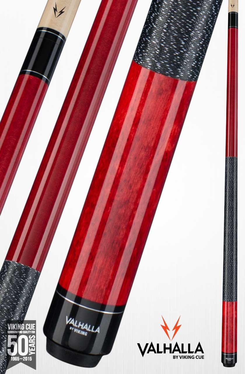 Viking Valhalla VA114 Red Pool Cue Stick