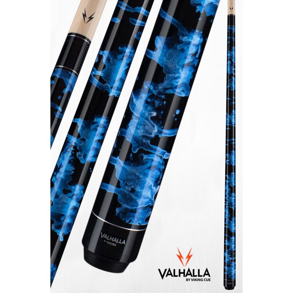 Valhalla VA211 Blue Pool Cue Stick from Viking Cue