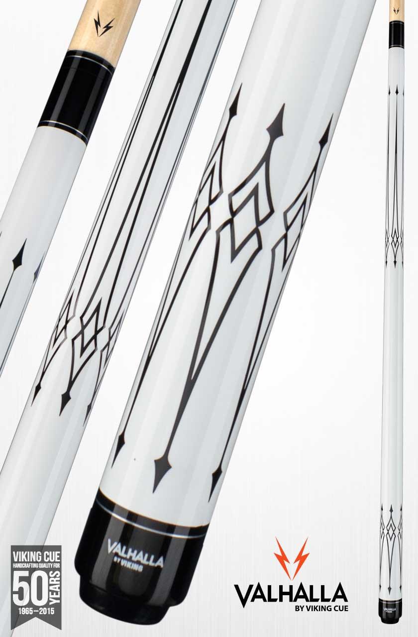 Viking Valhalla VA221 White Pool Cue Stick