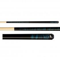 Dufferin D-203 Marbled Blue Dream Pool Cue Stick