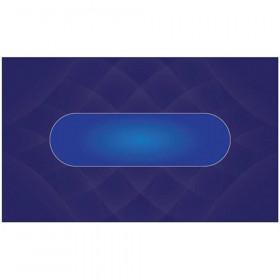 Blue Sublimation Poker Table Felt