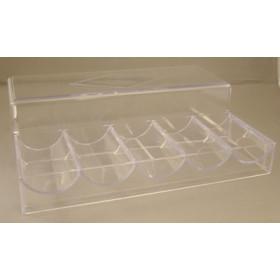 100 Chip Acrylic Chip Tray