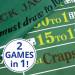 Blackjack and Roulette Table Felt 72x36