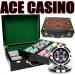 Ace Casino 14 Gram 500pc Poker Chip Set w/Hi Gloss Case
