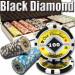 Black Diamond 14 Gram 500pc Poker Chip Set w/Aluminum Casel