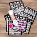 Set of Five Standard Color Bingo Daubers