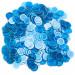 300 Pack Blue Magnetic Bingo Marker Chips