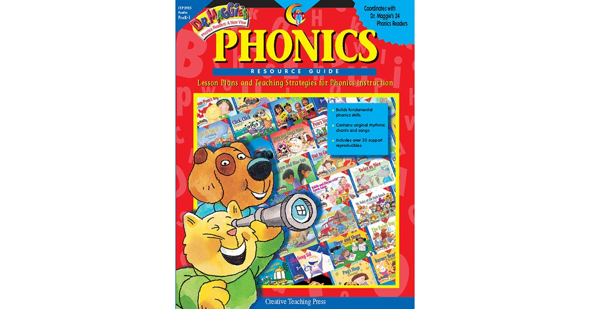 Dr Maggies Phonics Resource Guide Ctp2925 Creative Teaching