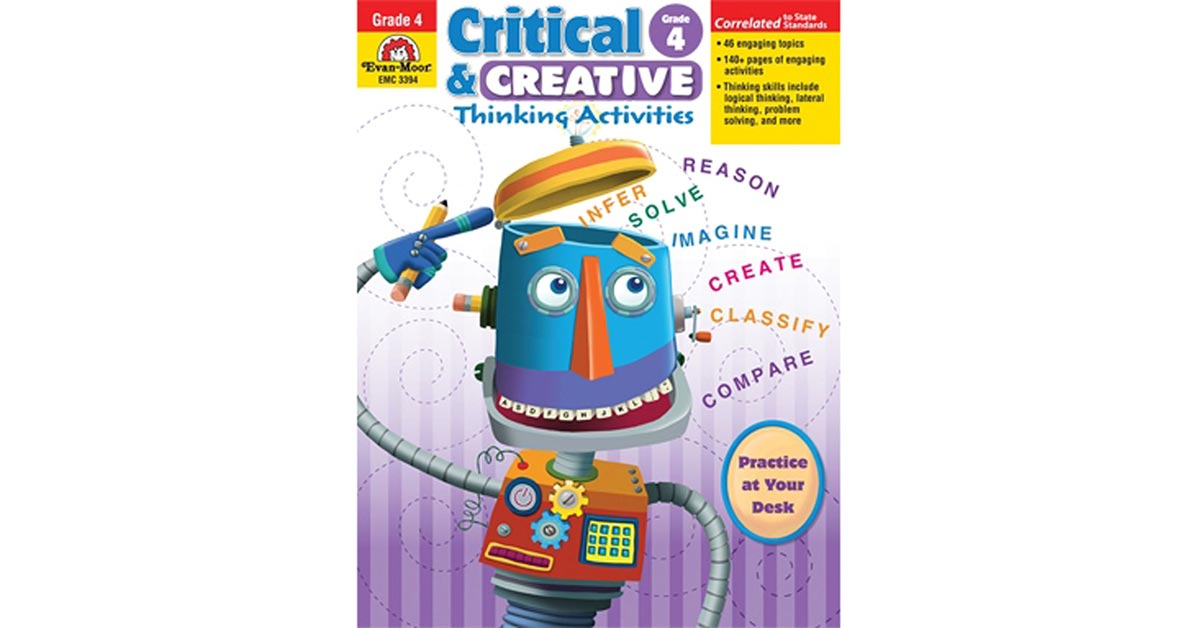 critical and creative thinking activities for college students