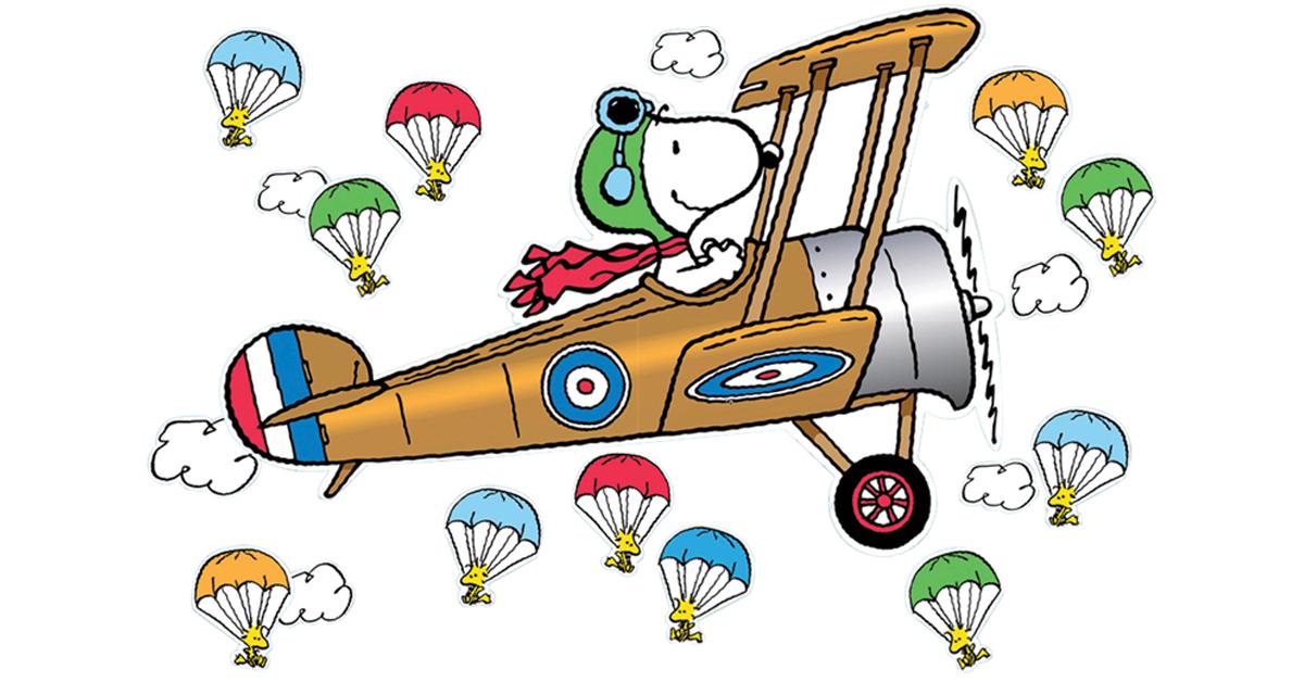 22054 Flying Ace Snoopy Schleich PEANUTS NEU !
