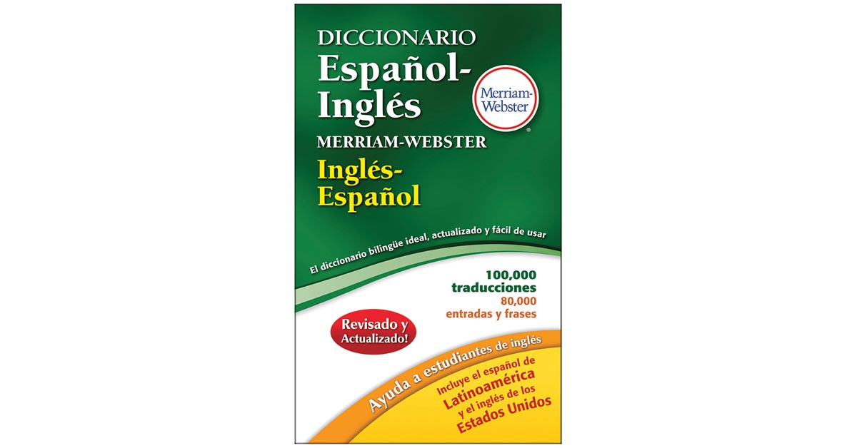 Mw Merriam Websters Diccionario Espanol Ingles