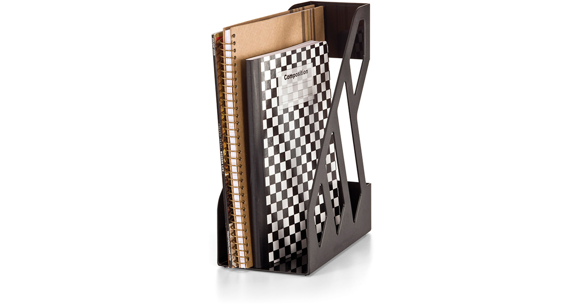 Achieva recycled magazine file oic26215 officemate for International decor outlet corp