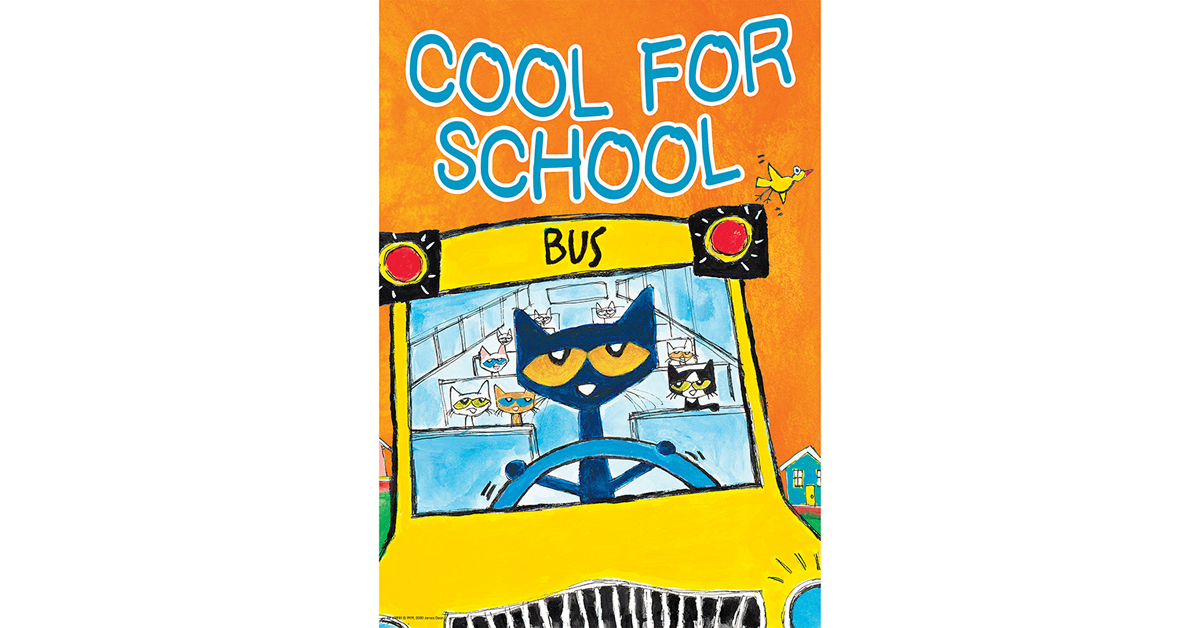 Teacher Created Resources Pete The Cat Positive Poster Pack TCR6656
