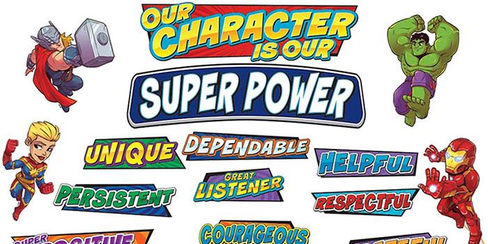 Marvel Super Hero Classroom Decorations