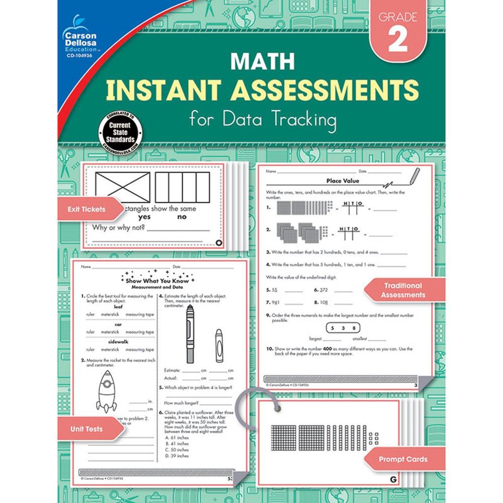 Instant Assessments for Data Tracking, Grade 2 - CD-104936 | Carson ...